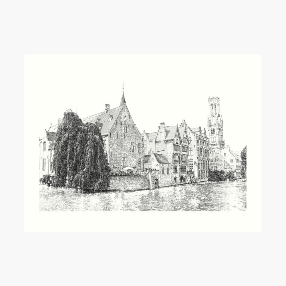 Brugge-belfort- Aurealis creatief - grafische designer