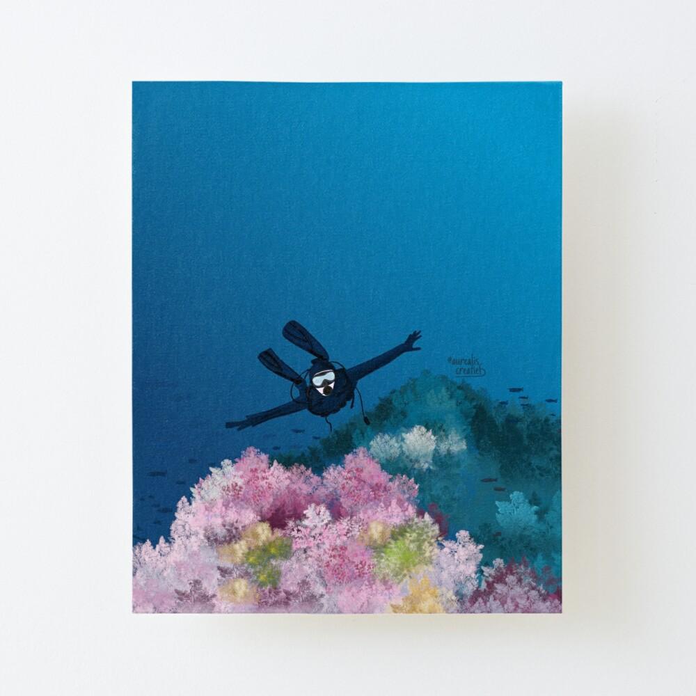 CoralReef- illustratie voor Duikers - illustratie Aurealis Creatief