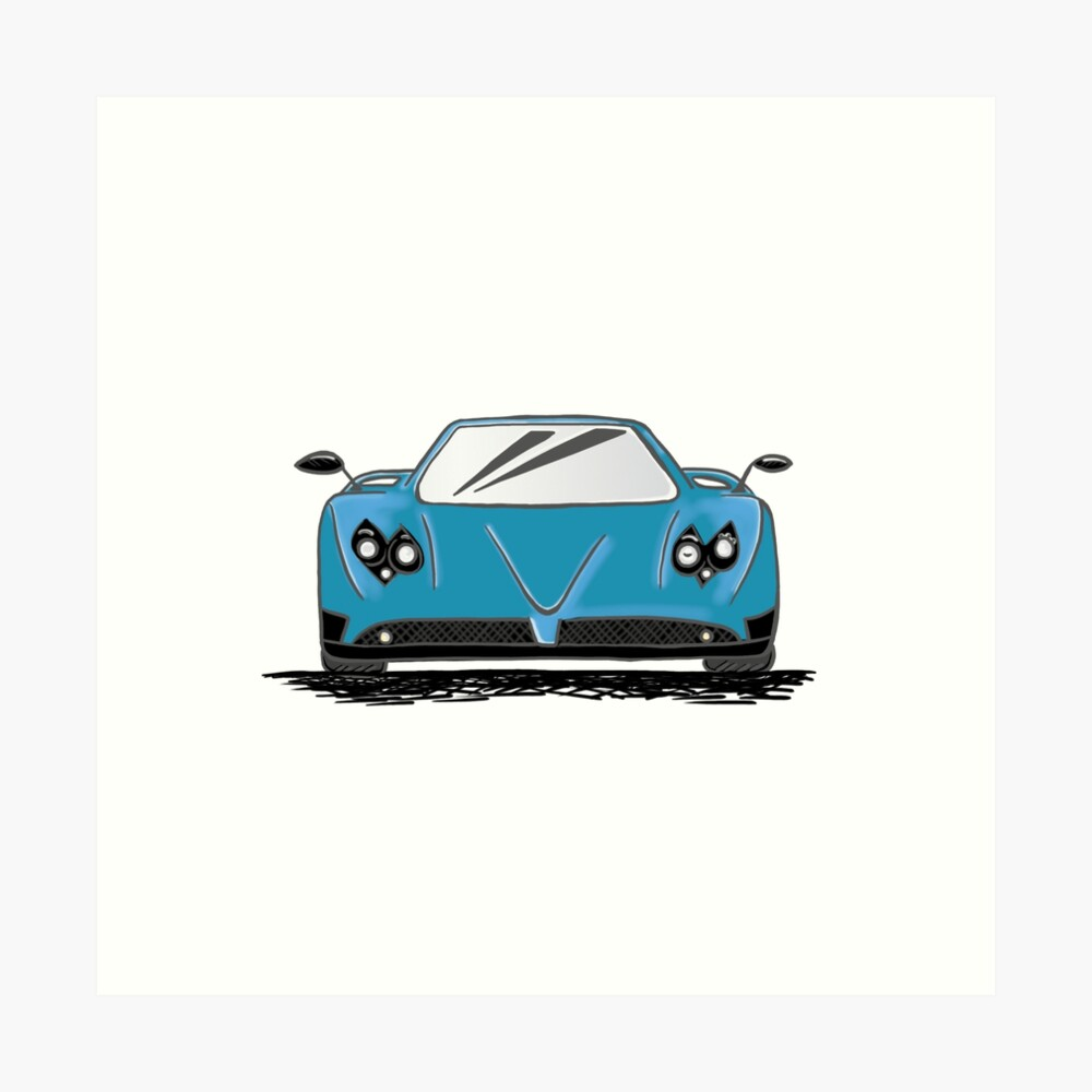 Car drawing-grafisch-illustrator-AurealisCreatief