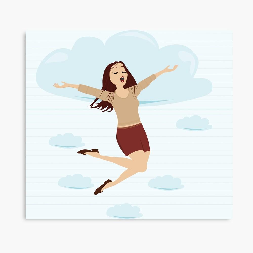 In de wolken - illustratie voor kinderen - illustratie Aurealis Creatief