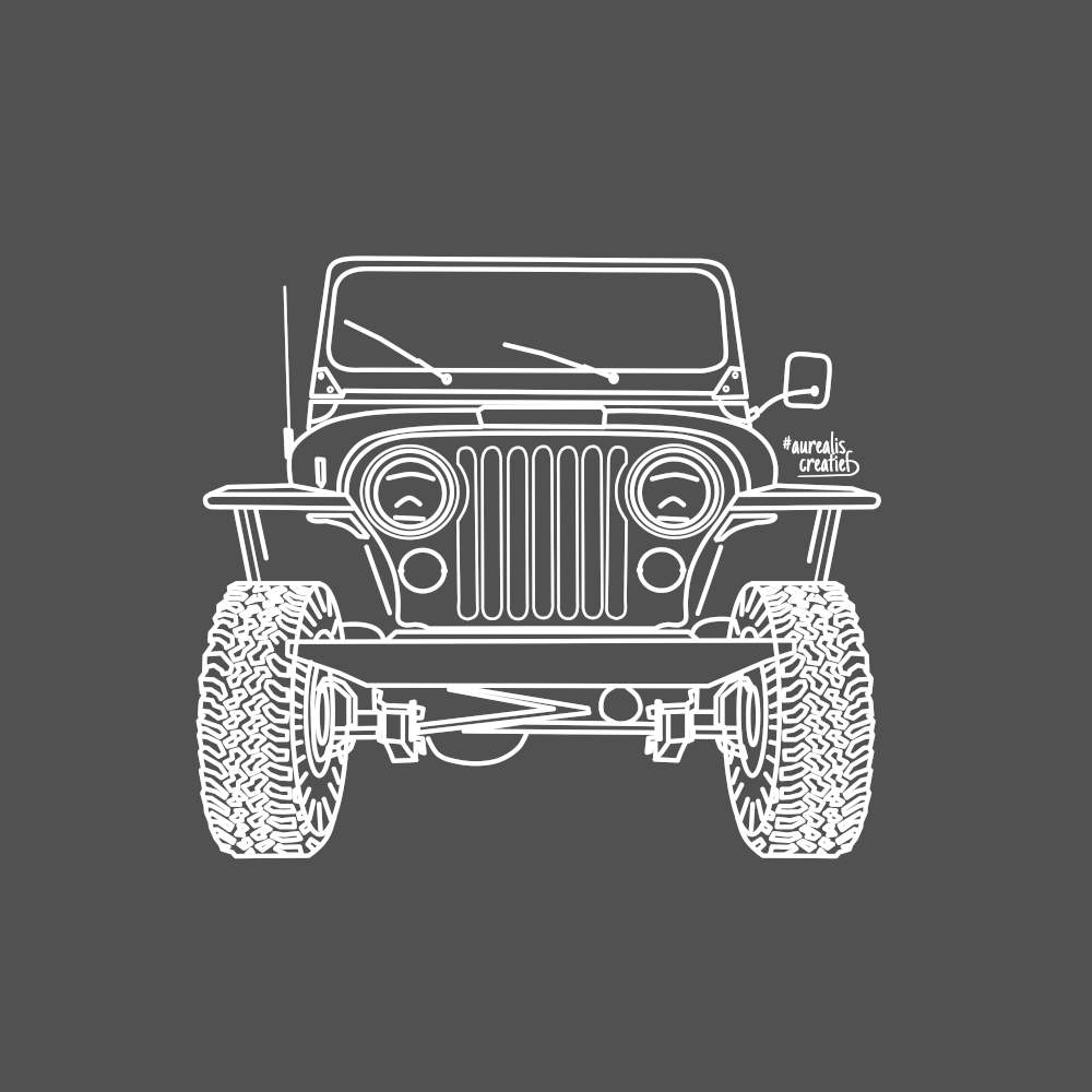kidsillustration-Jeep-4x4-AurealisCreatief