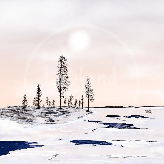 DepartureOfIce-FloatingIce-Lapland8Seasons