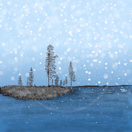 FirstSnow-Snowflakes-Lapland8Seasons