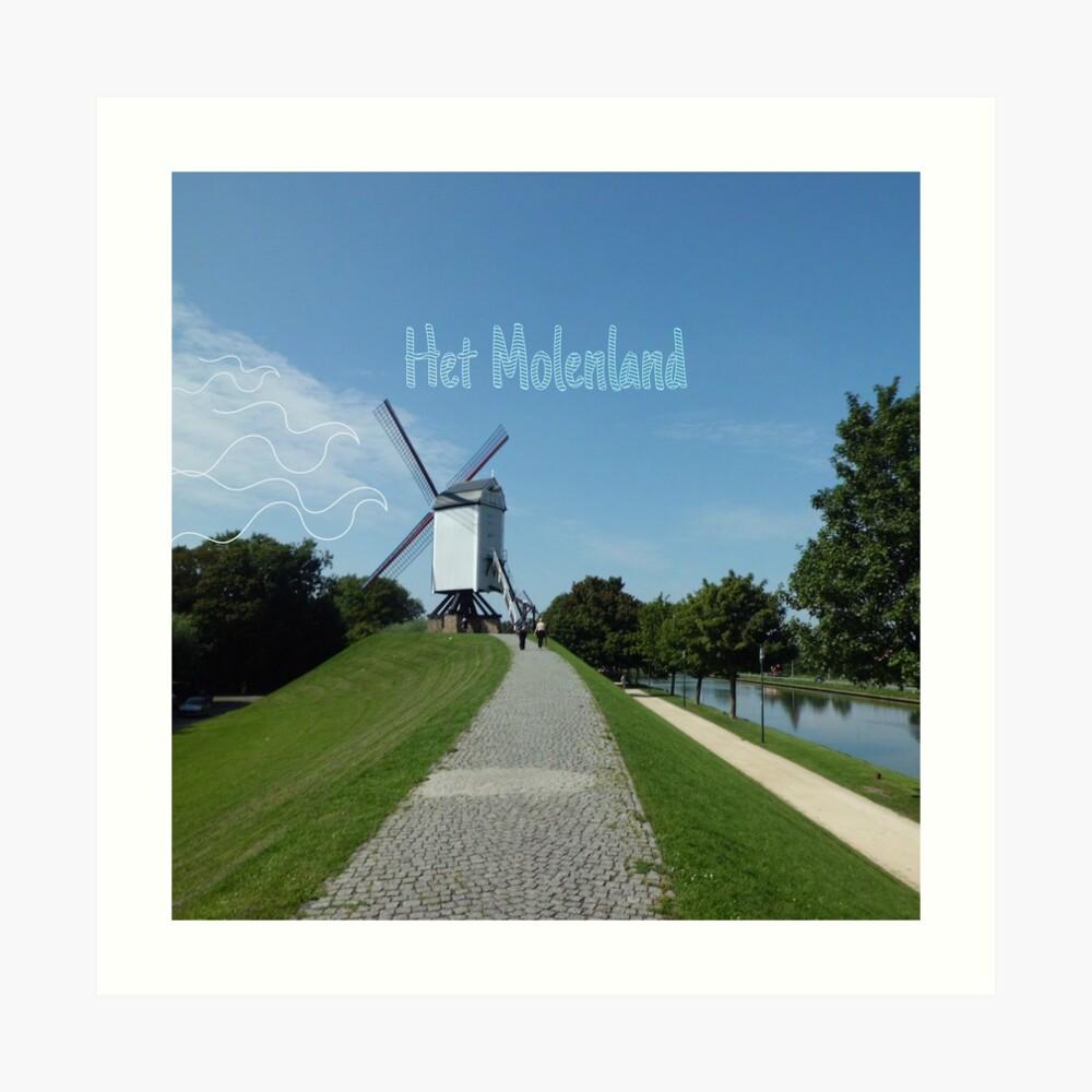 Molenland- illustratie Aurealis Creatief