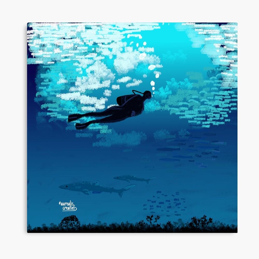 Scuba-Diver-illustrator Aurealis Creatief